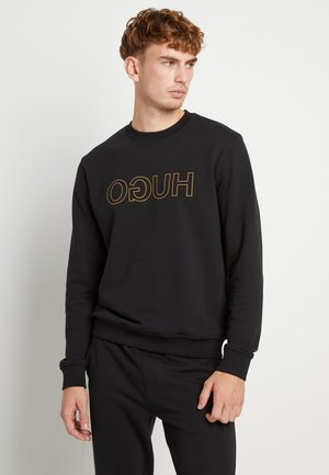 DICAGO - Sweatshirt - black/gold