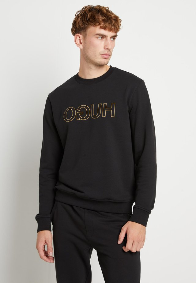 DICAGO - Sweater - black/gold