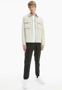 Calvin Klein - Light jacket - bleached stone - 1