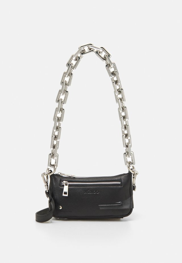 PARTY BAG CHAIN - Handbag - black
