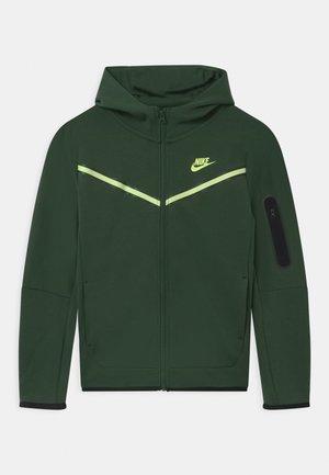 Zip-up hoodie - galactic jade/light liquid lime