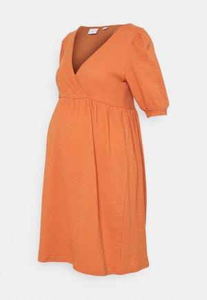 MLBRANCH TESS DRESS - Jersey dress - autumn leaf