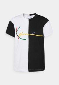 Karl Kani - SIGNATURE BLOCK TEE - Print T-shirt - black - 4