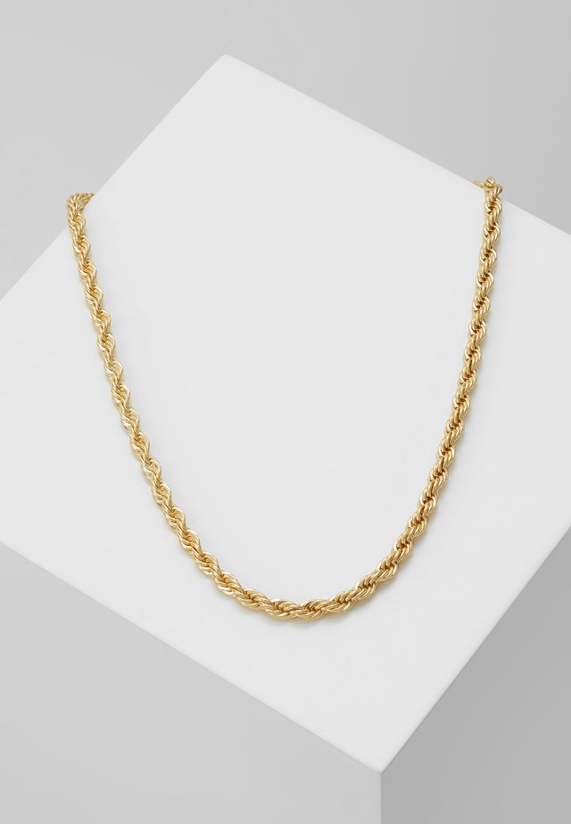 CHASE HEGE NECK PLAIN - Ketting - gold-coloured