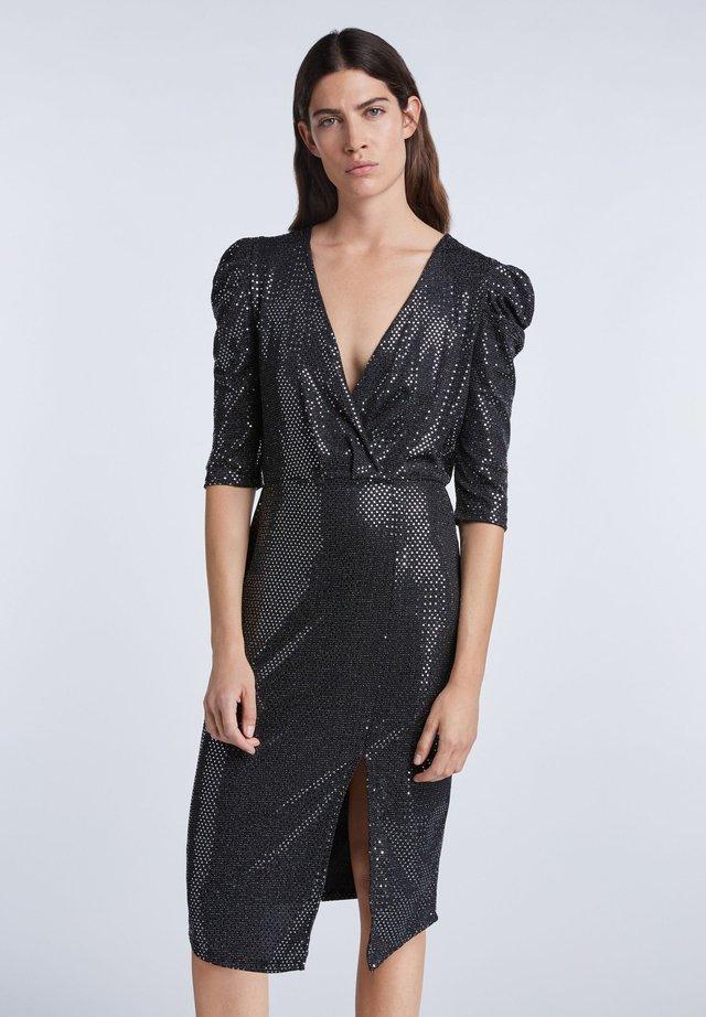 Robe de soirée - silver black