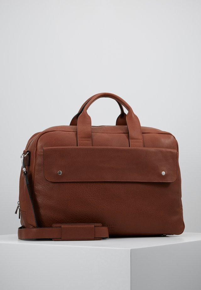 THOR WEEKEND BAG - Torba weekendowa - brown
