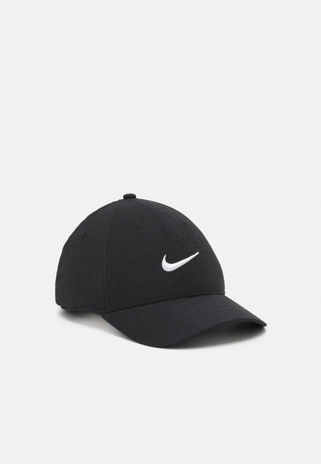 NOVELTY - Cap - black/dark smoke grey/white