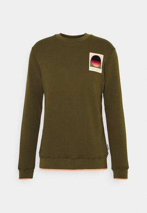 WITH SEASONAL ARTWORKS - Sweater - military