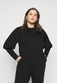 Pieces Curve - PCROSAN - Sweatshirt - black - 0