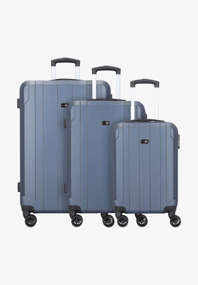 3 PIECES - Set di valigie - blue