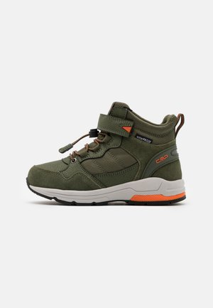KIDS HADIL LIFESTYLE SHOES WP UNISEX - Hiking shoes - oil green