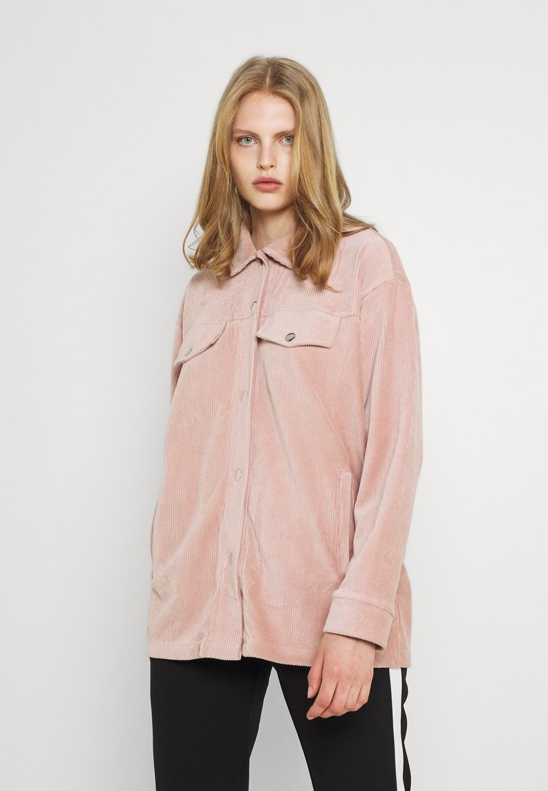Nly by Nelly - OVERSIZED SHACKET - Blouse - mauve