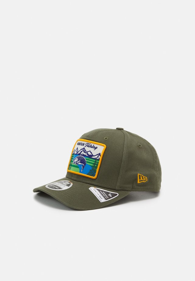 OUTDOORS 9FIFTY STRETCH SNAP UNISEX - Keps - olive