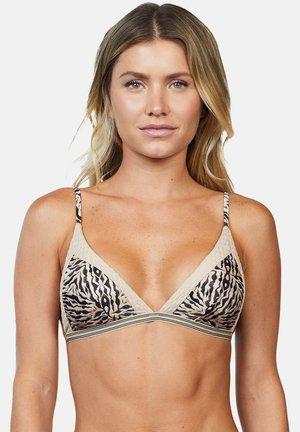 SAFARI - Bikini top - sand