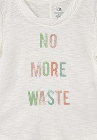 GAP - TODDLER GIRL EASY  - T-shirt print - new off white - 2