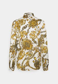 Versace Jeans Couture - SHIRT - Blouse - white/gold - 10