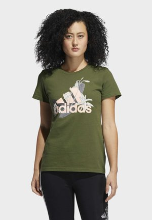 GRAPHIC SHORT SLEEVE T-SHIRT - T-shirt imprimé - green