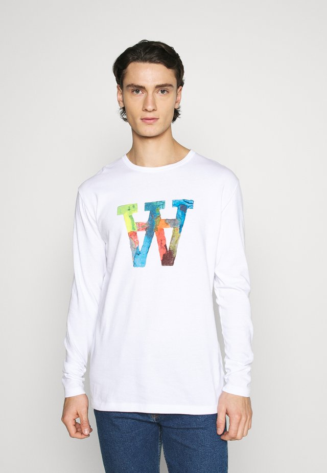 MEL  - T-shirt à manches longues - bright white