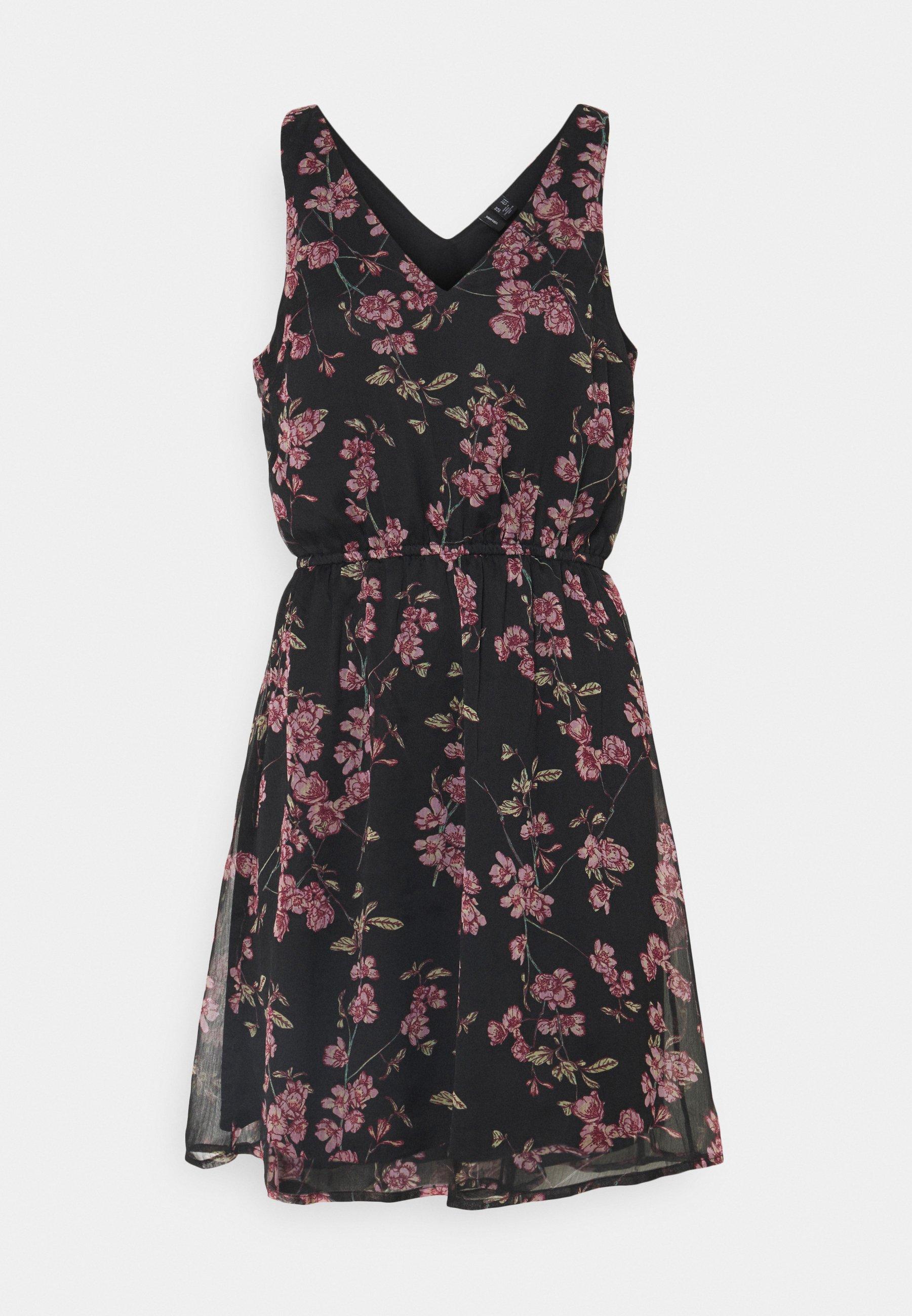 Women VMWONDA NEW SINGLET SHORT DRESS - Day dress
