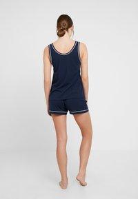 Tommy Hilfiger - TAILORED SLEEP SHORT - Pyjama bottoms - navy blazer - 2