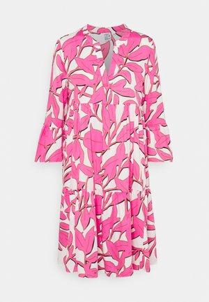 BOHO - Shirt dress - white/pink