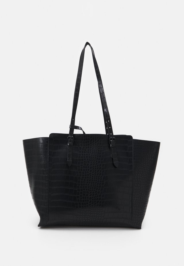 SMOOTH - Tote bag - black