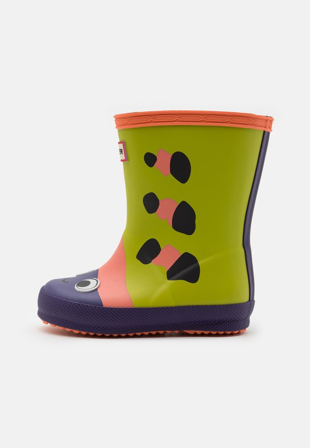 KIDS FIRST BEETLE CHARACTER BOOT UNISEX - Gummistiefel - yellow