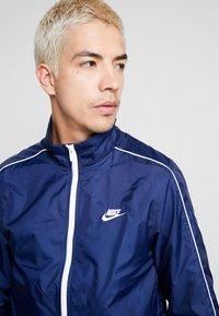 Nike Sportswear - SUIT BASIC - Tracksuit - midnight navy/white - 7