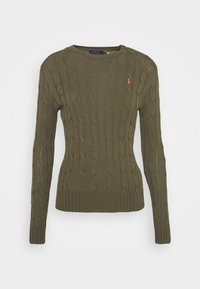 Polo Ralph Lauren - CLASSIC - Jumper - defender green - 5