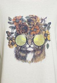 Cream - CARRIECR - Print T-shirt - white - 5