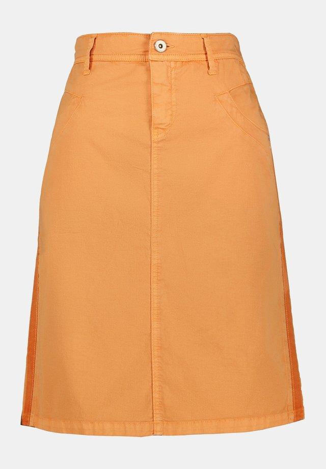 Jupe trapèze - orange