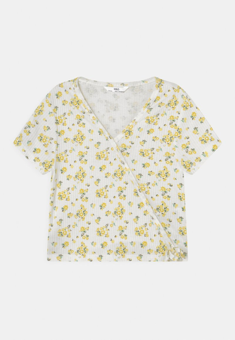 Marks & Spencer London - WRAP - T-shirt print - white
