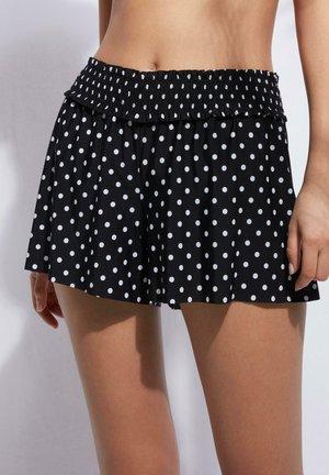 LASERGESCHNITTENE  - Bikini bottoms - nero pois bianco