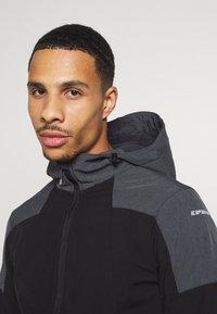 Icepeak - BENDON - Soft shell jacket - black - 3