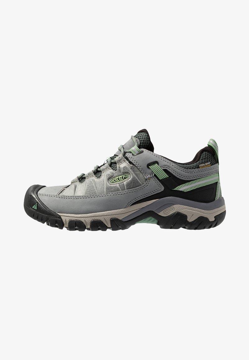 Keen - TARGHEE III WP - Hiking shoes - bleacher/duck green