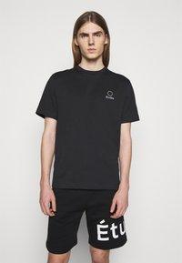 Études - LOGO UNISEX - T-shirt con stampa - black - 0