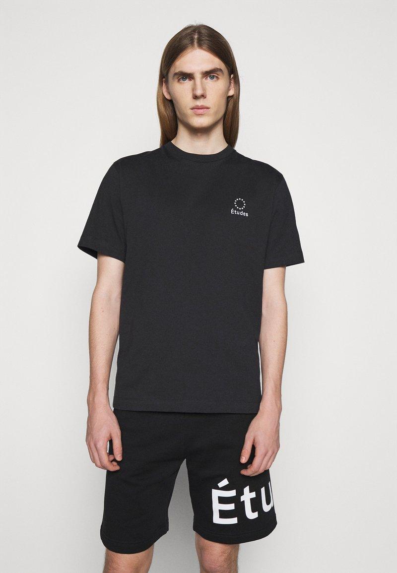 Études - LOGO UNISEX - T-shirt con stampa - black