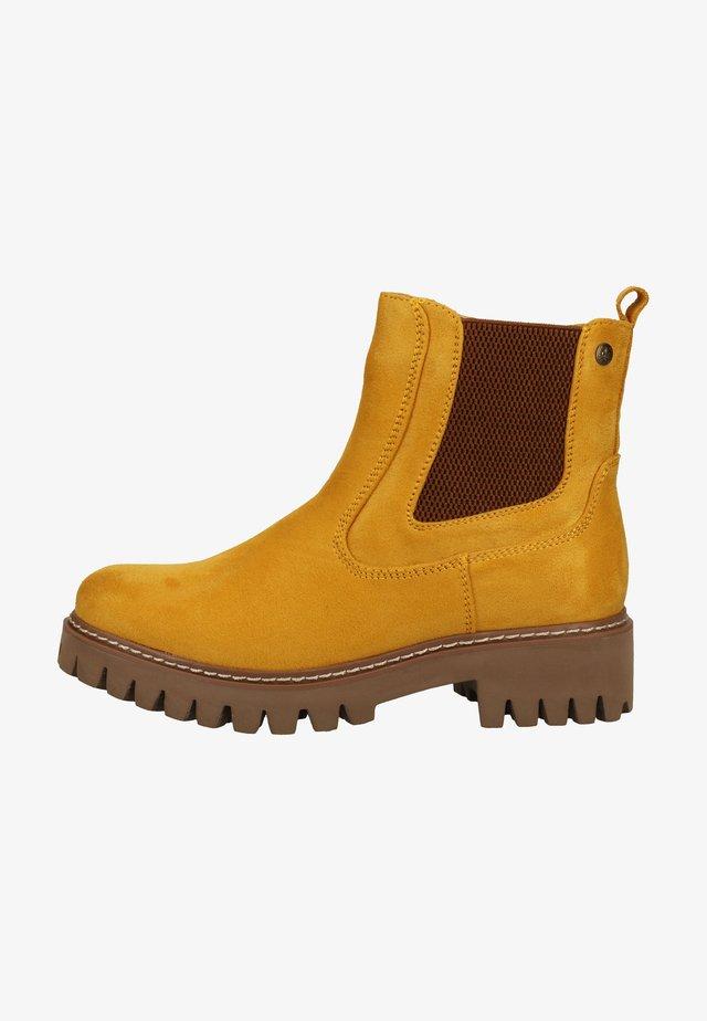 Korte laarzen - mais/brown