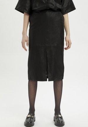 MWBALLY  - Pouzdrová sukně - black