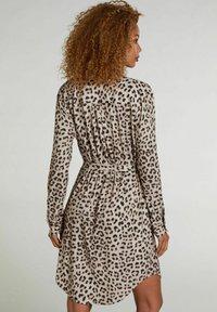 Oui - Shirt dress - light grey camel - 1