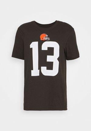 NFL CLEVELAND BROWNS PLAYER ESSENTIAL BECKHAM JR - Club wear - brown