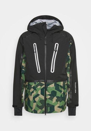 EXPEDITION SHELL JACKET - Ski jacket - green