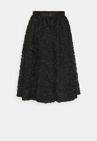Custommade - ROBINA - A-line skirt - anthracite black - 6