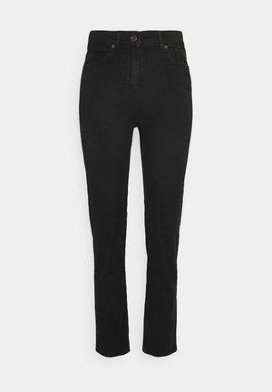 PCLUNA - Straight leg jeans - black