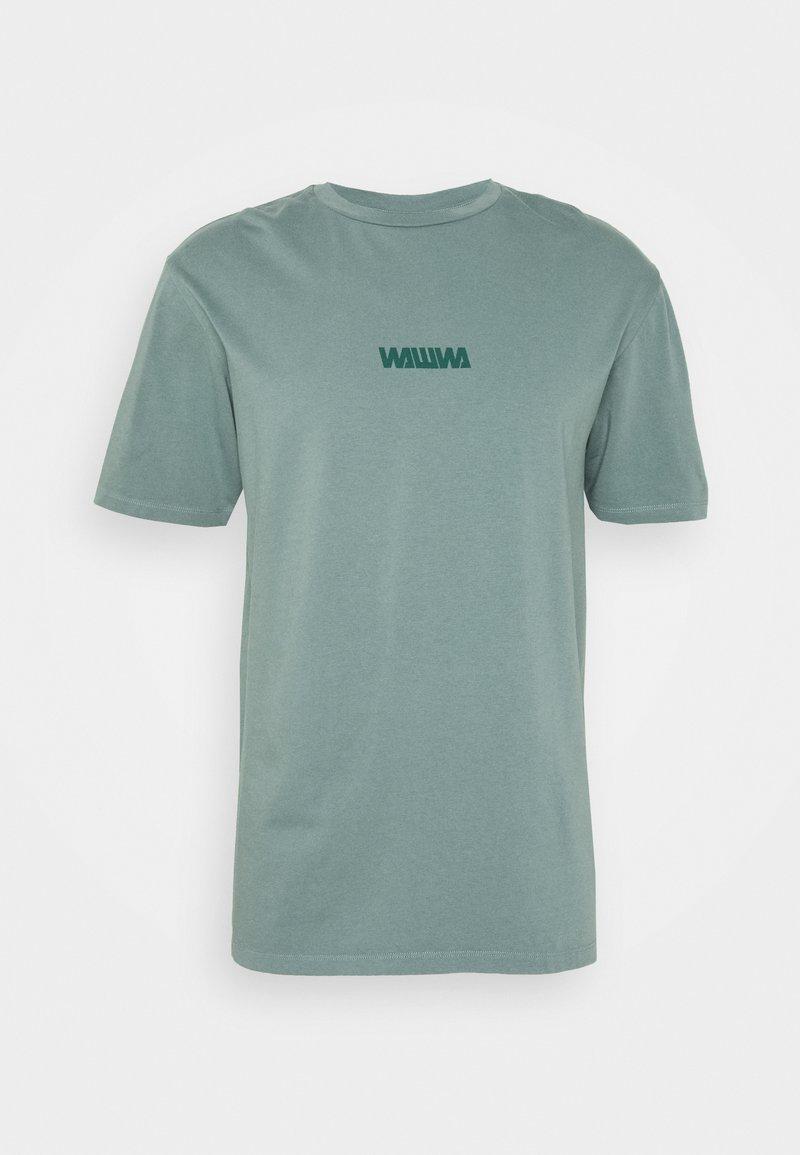 WAWWA - BASIC LOGO UNISEX - T-shirt z nadrukiem - green