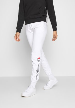 ELASTIC CUFF PANTS - Tracksuit bottoms - white