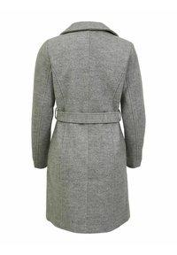 Vila - Classic coat - light grey melange - 5