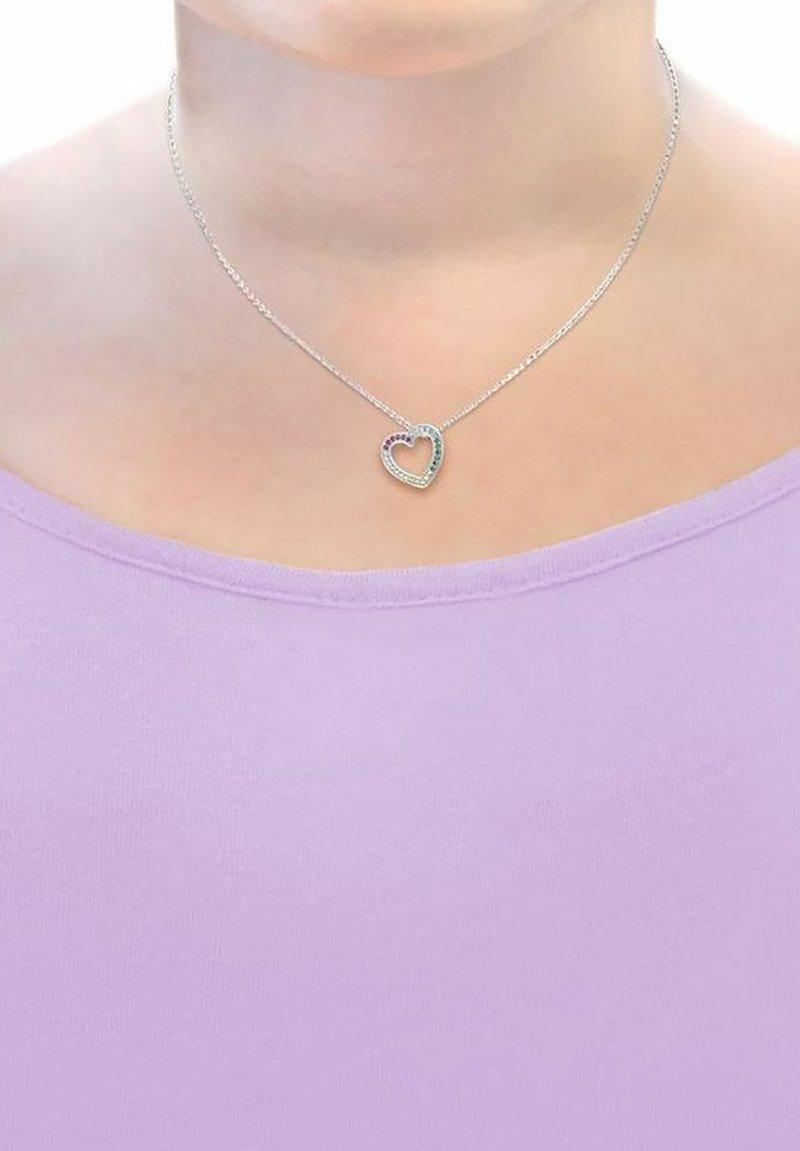Prinzessin Lillifee - HERZ - Necklace - hellblau