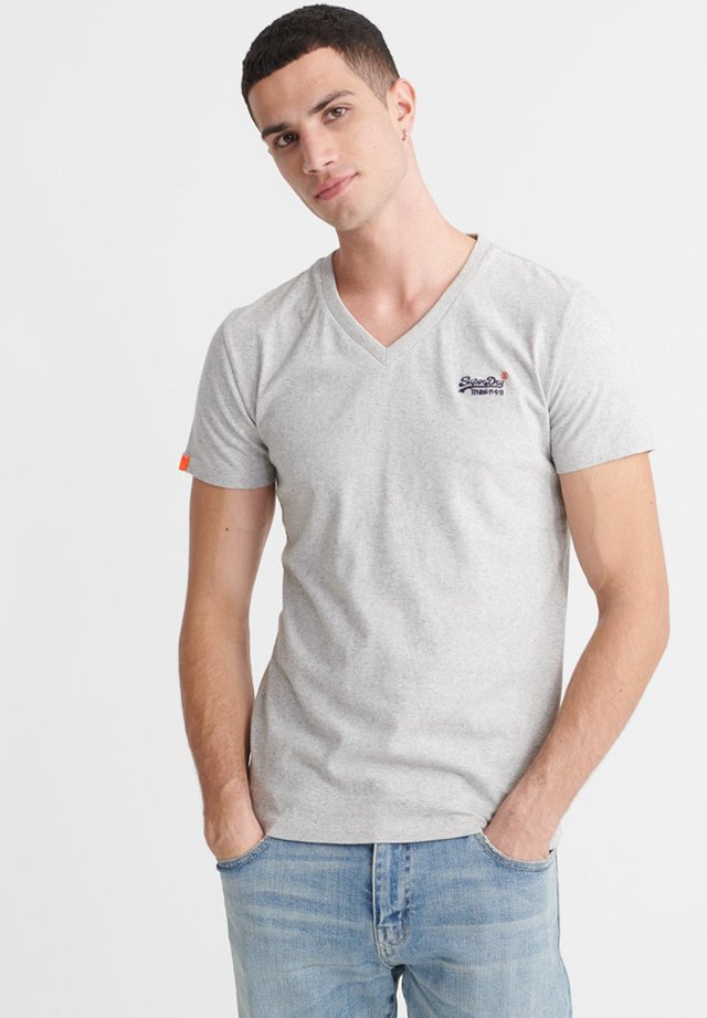 Basic T-shirt - silver glass feeder