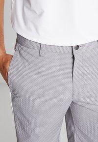 adidas Golf - STRIPE COLLECTION - Sportovní kraťasy - grey five melange - 3
